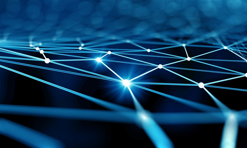 Blue virtual technology background with lines and grids.jpeg